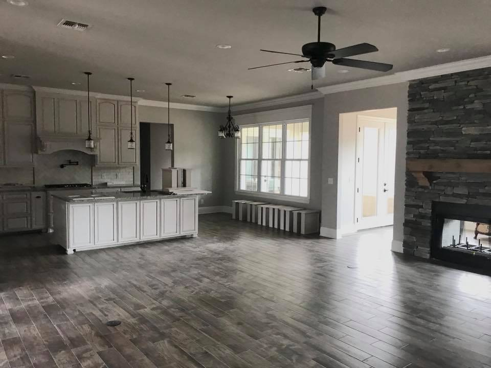 remodeled kitchen in Monroe, LA